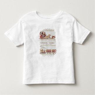 「ロンドンおよびヨーク」の王室のな郵便車 トドラーTシャツ