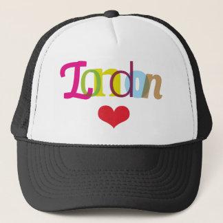 ロンドンからのかわいい記念品の帽子 キャップ