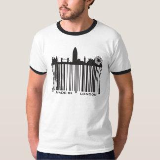 ロンドンで作られる Tシャツ
