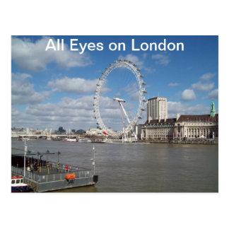 ロンドンのすべての目 ポストカード