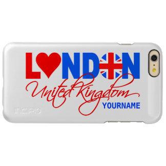 ロンドンのイギリスのカスタムな例 INCIPIO FEATHER SHINE iPhone 6 PLUSケース