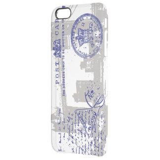 ロンドンのイギリスの郵便はがき クリア iPhone 6 PLUSケース