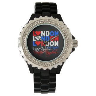 ロンドンのカスタムの腕時計 腕時計