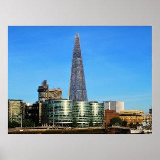 ロンドンのガラスの破片 ポスター