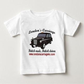 ロンドンのキャリッジ ベビーTシャツ
