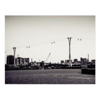 ロンドンのケーブル・カー ポストカード