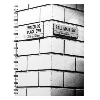 ロンドンのコーナー ノートブック