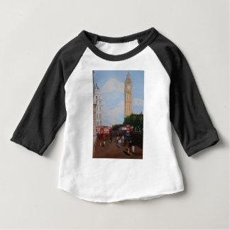ロンドンのコーナー ベビーTシャツ