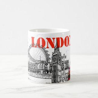 ロンドンのコーヒー・マグ コーヒーマグカップ