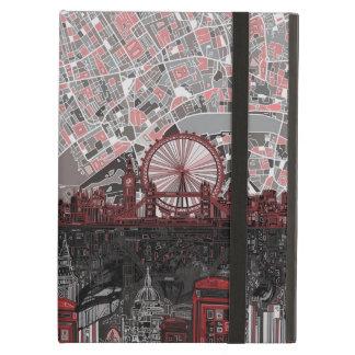 ロンドンのスカイラインの抽象芸術