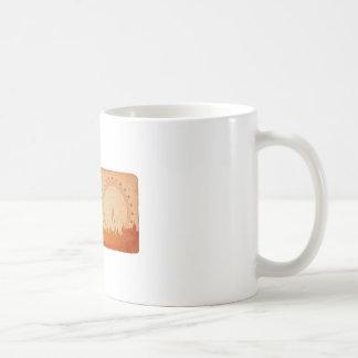 ロンドンのスカイライン コーヒーマグカップ