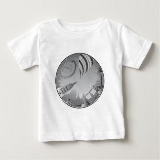ロンドンのスカイライン ベビーTシャツ