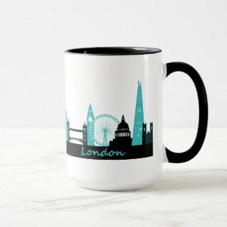 ロンドンのスカイライン マグカップ