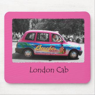 ロンドンのタクシーのピンク マウスパッド