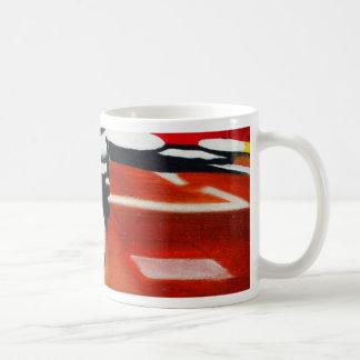 ロンドンのタクシーの黒のタクシーのデザイン コーヒーマグカップ