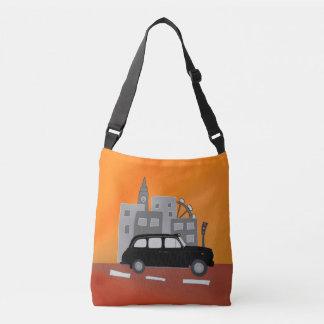 ロンドンのタクシー場面 クロスボディバッグ