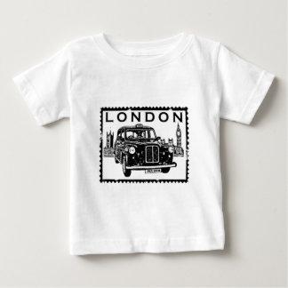 ロンドンのタクシー ベビーTシャツ