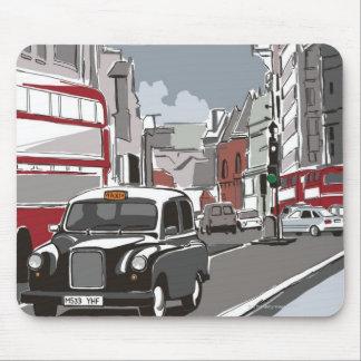 ロンドンのタクシー マウスパッド