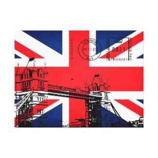 ロンドンのタワー橋 キャンバスプリント