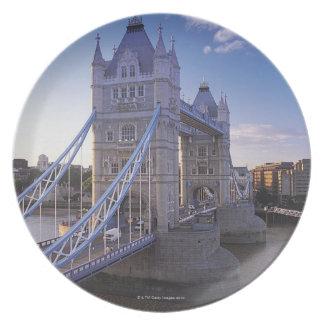 ロンドンのタワー橋 プレート