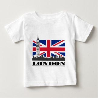 ロンドンのプライド ベビーTシャツ