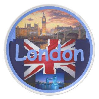 ロンドンのプレート プレート