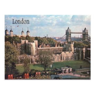 ロンドンのヴィンテージの郵便はがき ポストカード
