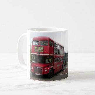 ロンドンの二階建てバス コーヒーマグカップ