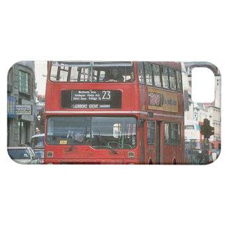 ロンドンの二階建てバス iPhone SE/5/5s ケース