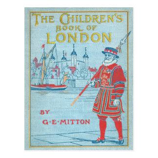 ロンドンの児童図書 ポストカード