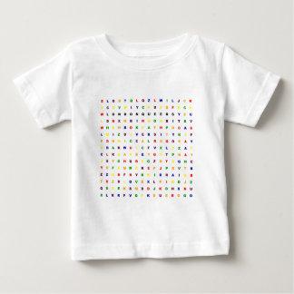 ロンドンの同性愛者Wordsearch ベビーTシャツ