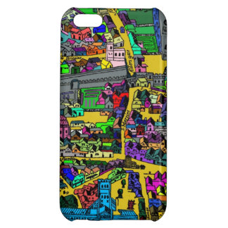 ロンドンの地図 iPhone5Cケース