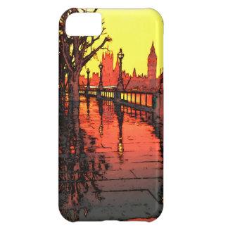 ロンドンの夕べ iPhone5Cケース