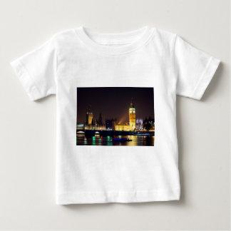 ロンドンの川の大きいBn. ベビーTシャツ