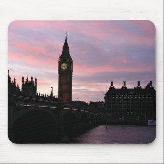 ロンドンの日没 マウスパッド