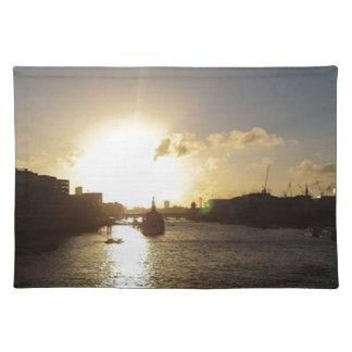 ロンドンの日没 ランチョンマット