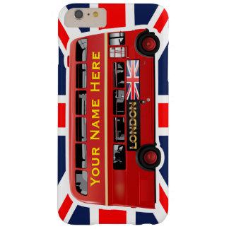 ロンドンの有名で赤いバス BARELY THERE iPhone 6 PLUS ケース