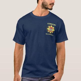 ロンドンの消防隊の義務のワイシャツ Tシャツ
