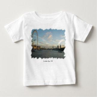 ロンドンの目および議会 ベビーTシャツ