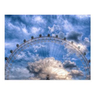 ロンドンの目の上の半分 ポストカード