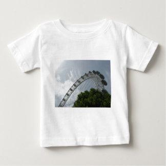 ロンドンの目の乳児のTシャツ ベビーTシャツ