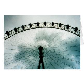 ロンドンの目の千年間の車輪、イギリス カード