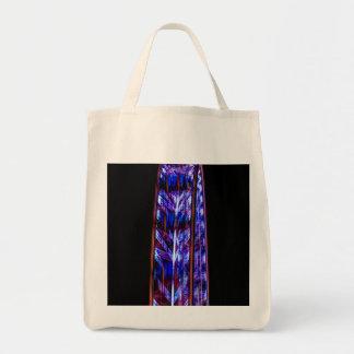 ロンドンの目の抽象芸術 トートバッグ