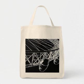 ロンドンの目の芸術 トートバッグ