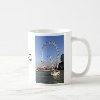 ロンドンの目の観覧車のマグ コーヒーマグカップ