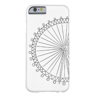 ロンドンの目のiPhone 6/6sの場合 Barely There iPhone 6 ケース