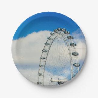 ロンドンの目、イギリス ペーパープレート