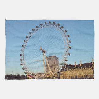 ロンドンの目 キッチンタオル