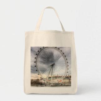 ロンドンの目 トートバッグ