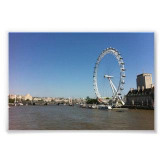 ロンドンの目 フォトプリント